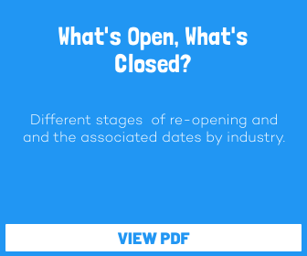 Back on Track - What's Open